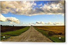 Highway D New Melle Mo 3 Acrylic Print by Bill Tiepelman