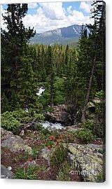 Hiking In Colorado Acrylic Print