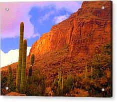 Hiking The Canyon Acrylic Print