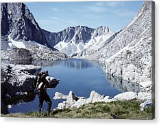 Hiking The High Sierra Acrylic Print