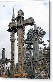 Hill Of Crosses 09. Lithuania Acrylic Print