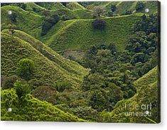 Hills Of Caizan 2 Acrylic Print by Heiko Koehrer-Wagner