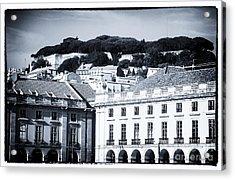 Hills Of Lisbon Acrylic Print by John Rizzuto