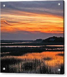 Hilton Head Sunset Acrylic Print