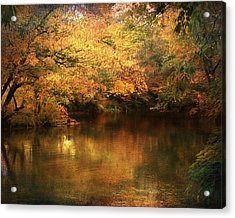 Hint Of September Acrylic Print by Jai Johnson