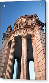 Historic Jewelers Building  Acrylic Print by Christopher Purcell