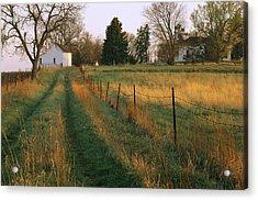 Historic Stevens Creek Farm Acrylic Print by Joel Sartore