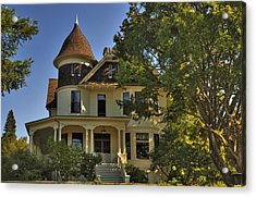 Historic Victorian House Acrylic Print by Tyra  OBryant