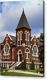 Historical 1901 Uab Spencer Honors House - Birmingham Alabama Acrylic Print by Kathy Clark