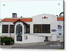 Historical Moss Beach Distillery At Half Moon Bay . 7d8172 Acrylic Print by Wingsdomain Art and Photography