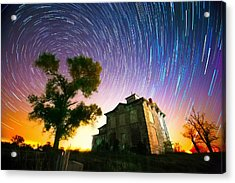 History Of The Universe Acrylic Print by Evan Ludes