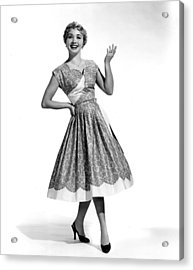 Hit The Deck, Jane Powell, 1954 Acrylic Print