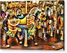 Hitch A Ride Acrylic Print by Clare VanderVeen