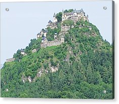 Acrylic Print featuring the photograph Hochosterwitz Castle Austria by Joseph Hendrix