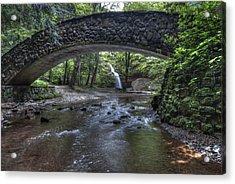 Hocking Bridge Acrylic Print