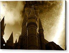 Hogwarts Castle Acrylic Print by David Lee Thompson