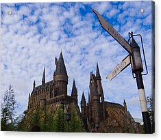 Acrylic Print featuring the photograph Hogwarts Castle by Julia Wilcox