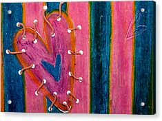 Holding It Together  Acrylic Print by Emma Manners