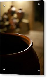 Holding Acrylic Print by Mike Reid