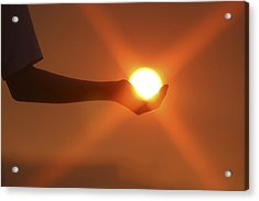 Holding The Sun Acrylic Print
