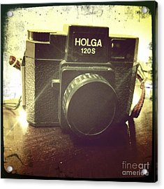 Acrylic Print featuring the photograph Holga by Nina Prommer
