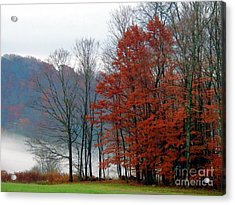 Holiday Hearald Acrylic Print by Christian Mattison