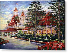 Holiday Hotel Acrylic Print