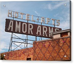 Hollywood Amor Arms Acrylic Print