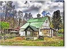 Holmes County Farm Acrylic Print by Tom Schmidt