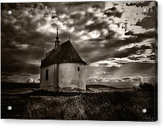 Holy Cross Chapel Acrylic Print by Tom Bell