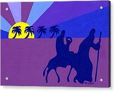 Holy Family Acrylic Print