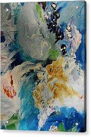 Holy Horse Plop Acrylic Print by Marina R Vladis