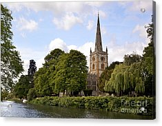 Holy Trinity Church Acrylic Print by Jane Rix