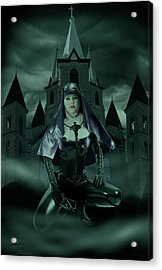 Acrylic Print featuring the digital art Holy War by Jeremy Martinson