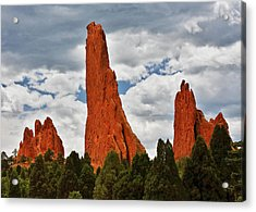 Home Of The Weather God - Garden Of The Gods - Colorado City Acrylic Print by Christine Till