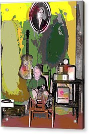 Home Sweet Home Acrylic Print by Charles Shoup