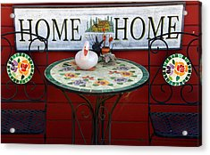 Home Sweet Home Acrylic Print by Jeff Lowe