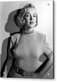 Home Town Story, Marilyn Monroe, 1951 Acrylic Print by Everett