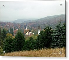 Acrylic Print featuring the photograph Hometown Hauntings by Christian Mattison