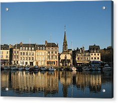 Acrylic Print featuring the photograph Honfleur  by Carla Parris