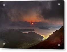Hongpo Sunset South Korea  Acrylic Print