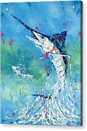 Hook Up Acrylic Print by Kevin Brant