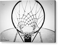 Hoop Dreams Acrylic Print by Susan Stone