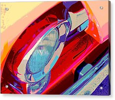 Hoots Crusin Central Acrylic Print by Chuck Re