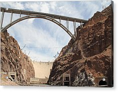 Hoover Dam Acrylic Print by Kim French