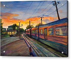 Hope Crossing Acrylic Print by Athena  Mantle