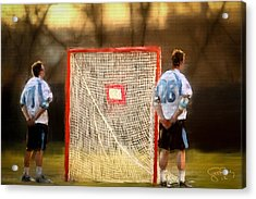 Hopkins Lacrosse Tradition Acrylic Print by Scott Melby