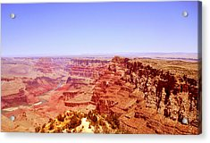 Acrylic Print featuring the photograph horizon in Grand Canyon by Rima Biswas