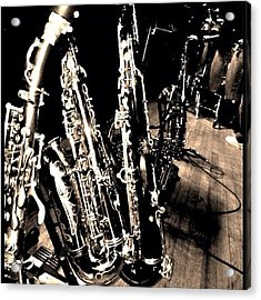 Horns #horns #housemusic #jazz #music Acrylic Print