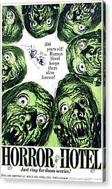 Horror Hotel, Aka The City Of The Dead Acrylic Print by Everett